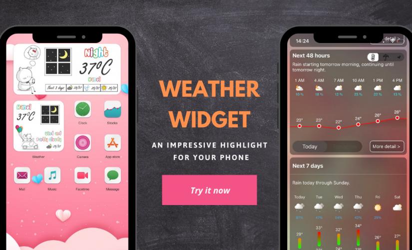 Top 6 Weather Widget Apps for iPhone (IOS)