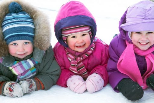 Safety tips for keeping kids warm in the winter
