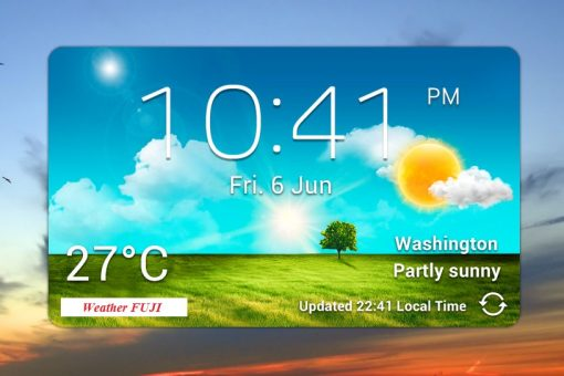 The best clock and weather widget for your iPhone (IOS)