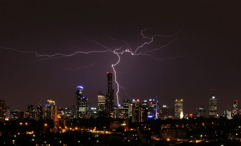 Safety Recommendations when lightning occurs