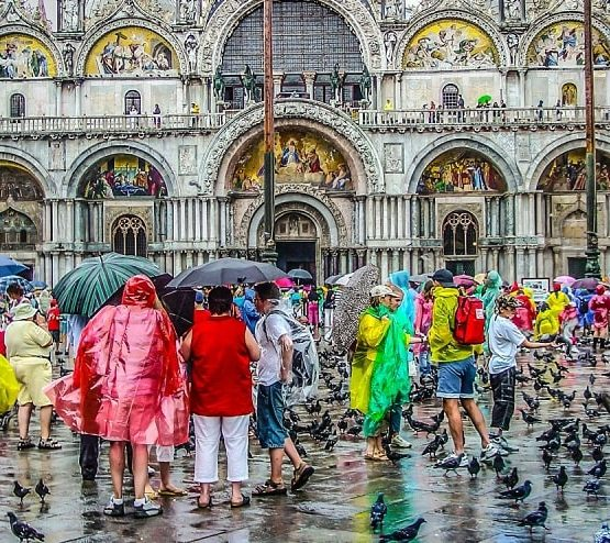Useful experiences for travel in the rainy season