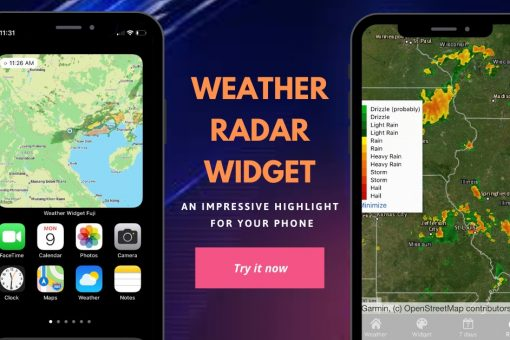 Weather Radar widget for Iphone (IOS)