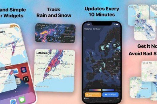 Best Weather Radar Widget for iPhone (on IOS)