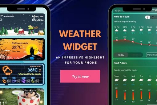 10 weather widget for weather in iOS 14 for iPhone and iPad